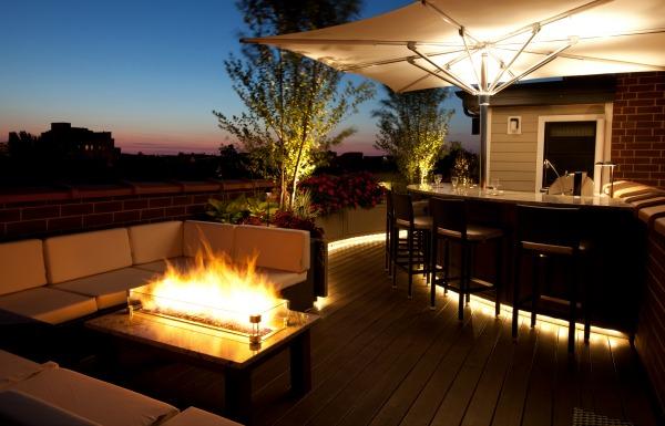 Chicago Green Design Premier Rooftop Deck Design